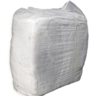 WHITE T-SHIRT RAG - 10KG