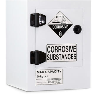PCSSC20 - CORROSIVE SUBSTANCE POLY STORAGE CABINET - 20 LITRE