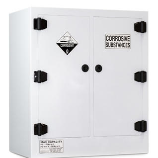 PCSSC160 - CORROSIVE SUBSTANCE POLY STORAGE CABINET - 160 LITRE