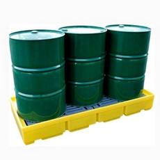 TSSBP3 3-Drum In Line Spill Pallet