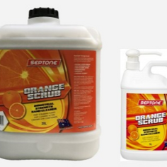 Septone Orange Scrub