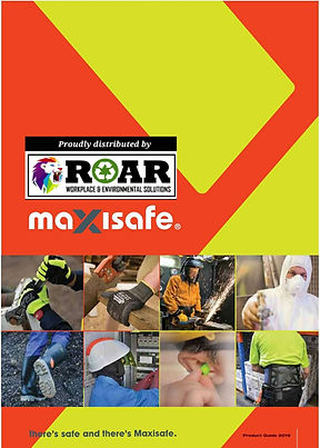MAXISAFE-DISTRIBUTED BY ROAR-FRONT PAGE.