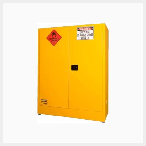 350 Litre Flammable Liquid Storage Cabinet BCFLS250LEC