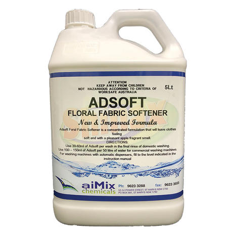 Adsoft Floral Fabric Softener