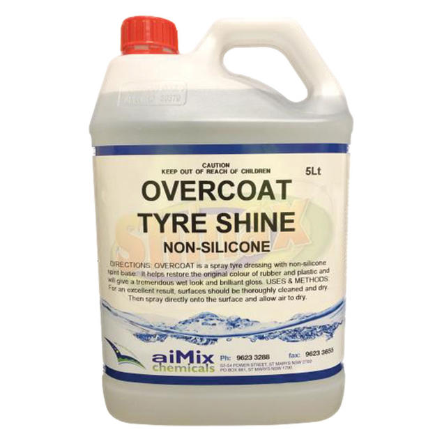 Overcoat (Non-silicone Tyre Dressing)