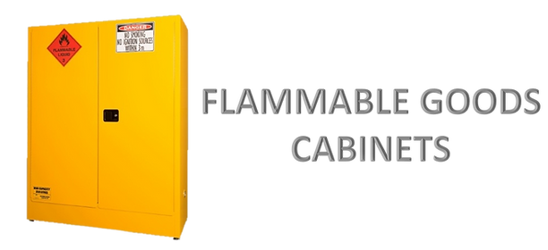 Flammable Good Cabinet