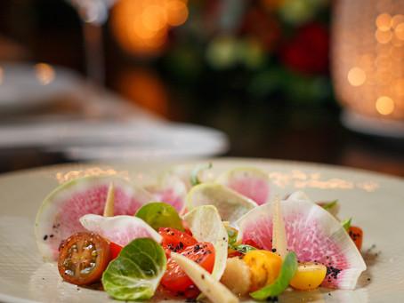 Предлагаю насладится вот такой вкусной картинкой☝️Овощной салат с арбузной редькой, блюдо из постног