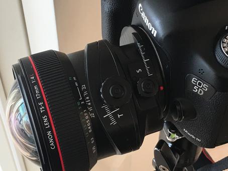 Canon TS-E 17mm Часть 1