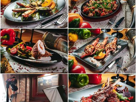FOOD сьемка ресторана Мимино г. Сочи