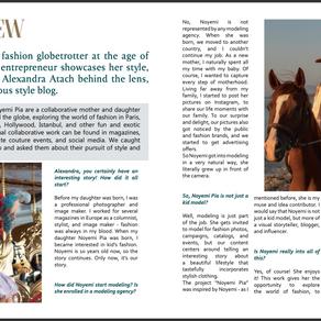 Interview for NEWGEN magazine.