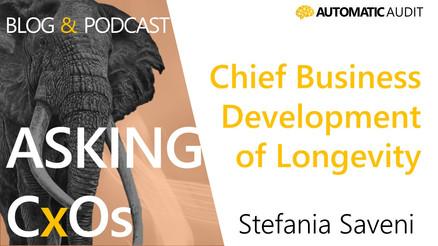 Stefania Saveni - Entrepreneur at heart and Chief Business Development of Longevity