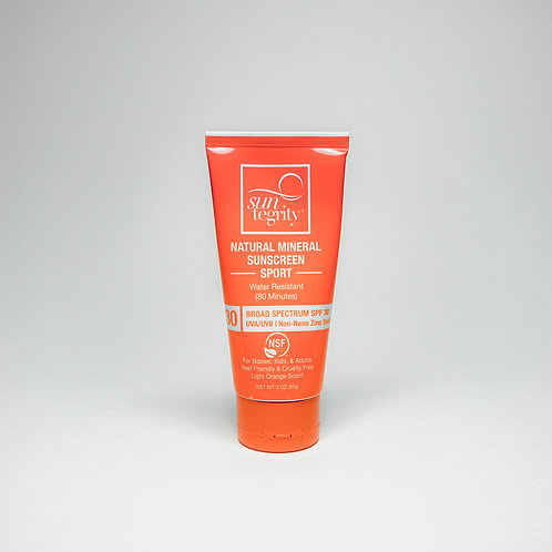 Natural Mineral Sunscreen For Body (sport)