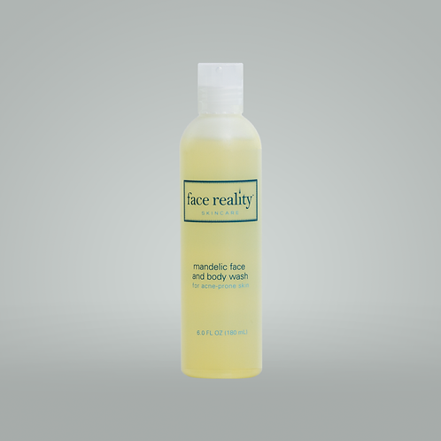 mandelic face & body wash