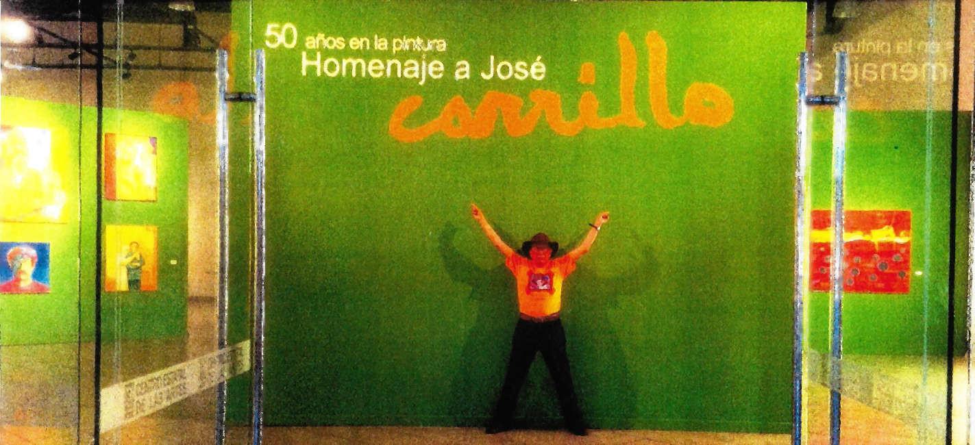 Expo 50 AÑOS EN LA PINTURA HOMENAJE A JOSÉ CARRILLO CEDILLO (2014)
