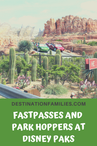Disney Fastpass and Park Hopper