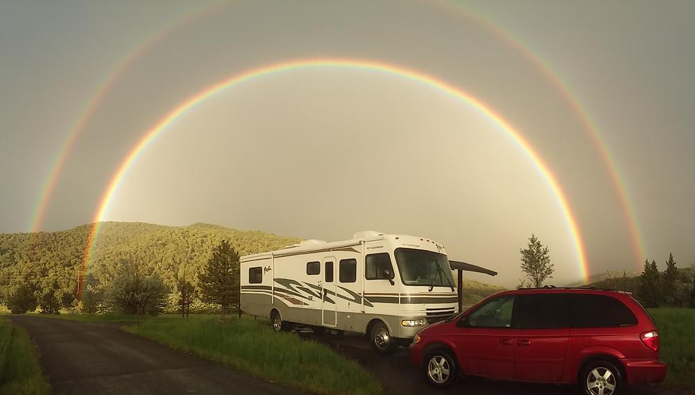 Ridgway State Park Campsites