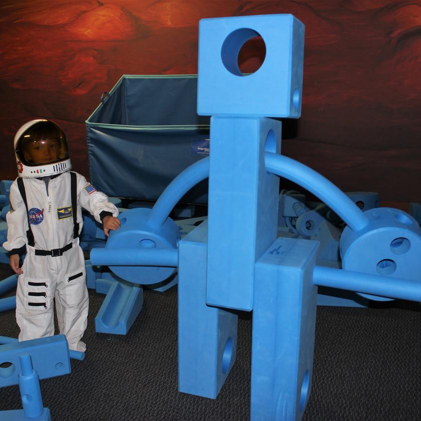 Space Foundation Discovery Center Colorado Springs Foam Blocks