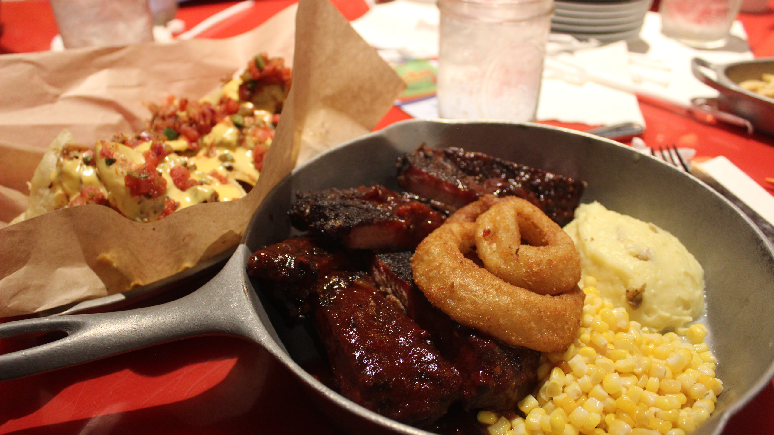 Food at Whispering Canyon Cafe at Disney's Wilderness Lodge