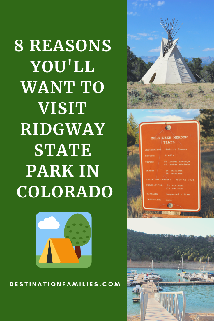 State Parks to RV Camp in Colorado