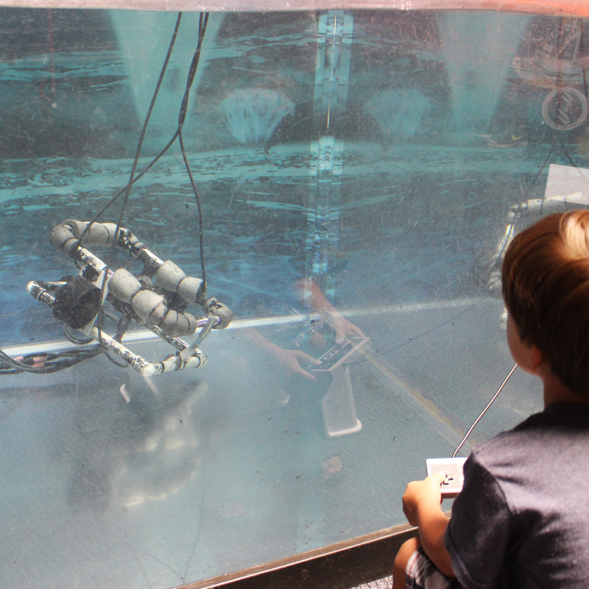 Space Foundation Discovery Center Colorado springs Underwater Robot