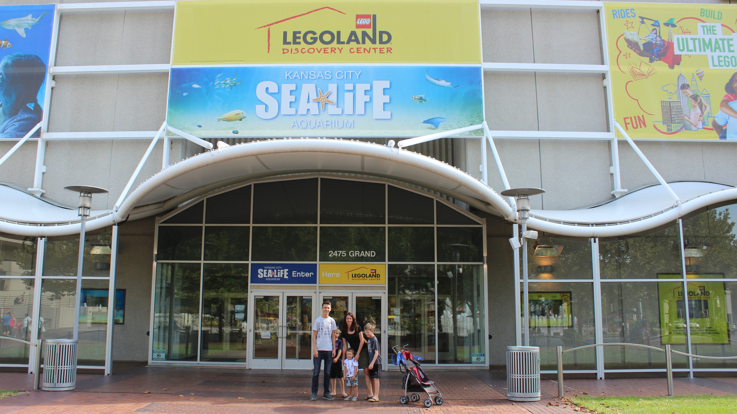 LEGOLAND Discovery Center and Sea Life Aquarium in Kansas City