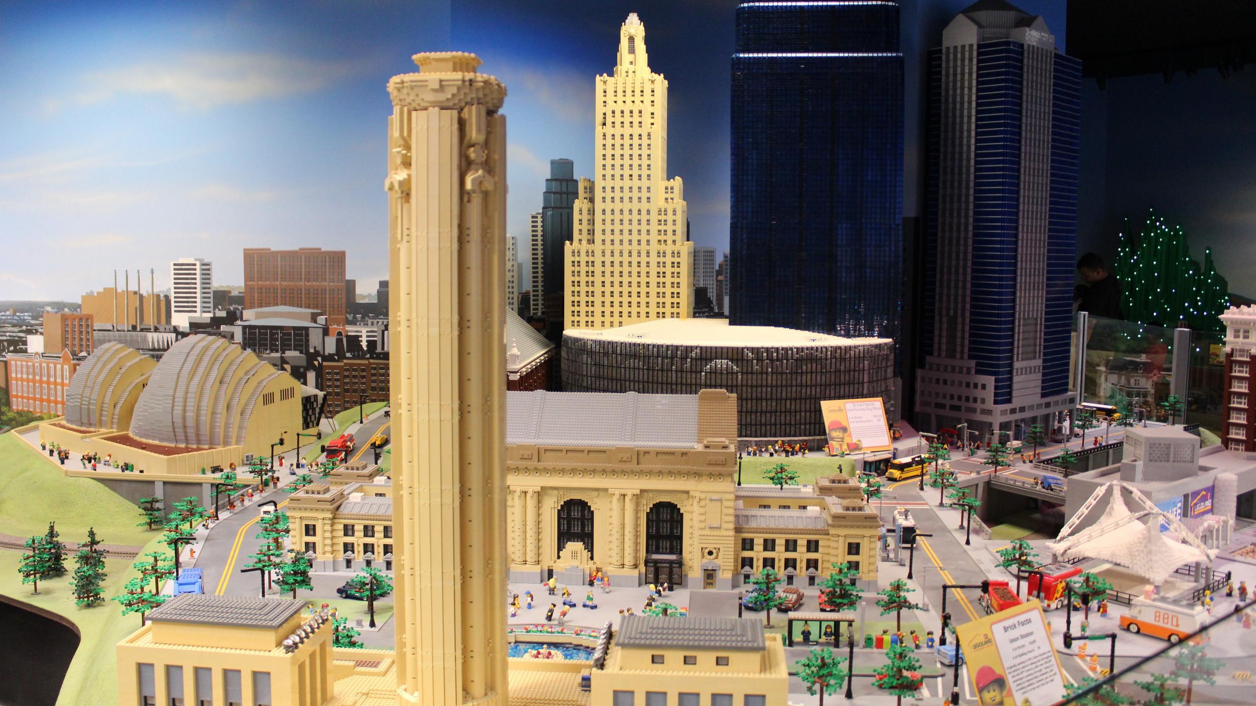Kansas City MINILAND at the LEGOLAND Discovery Center in Kansas City