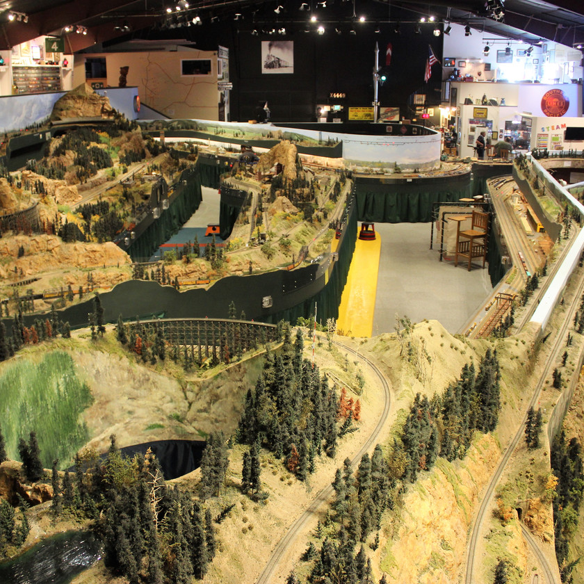 Colorado Model Railroad Museum Overview of Display