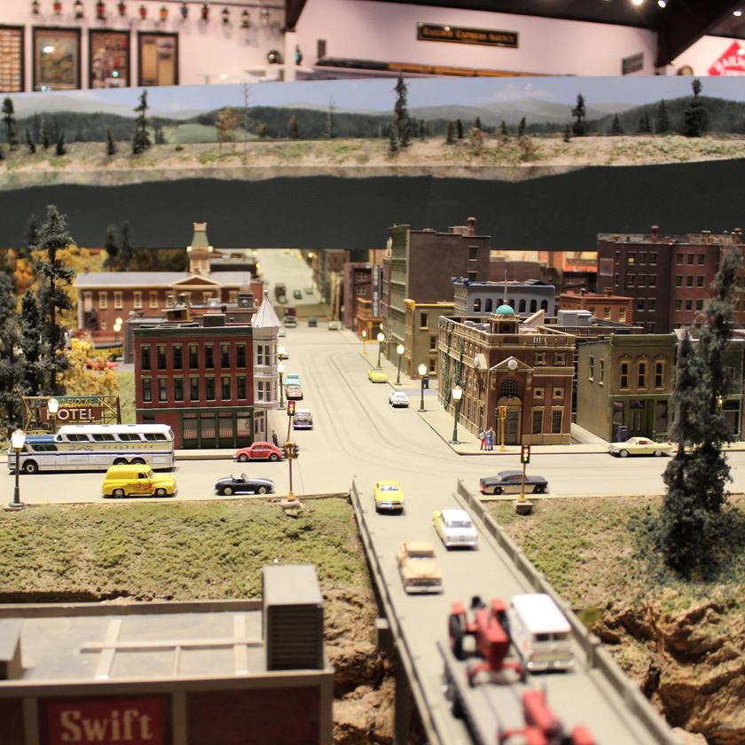 Colorado Model Railroad Museum Main Street Display