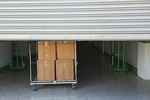 Entrance into self storage units, big ca