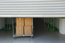 Entrance into self storage units, big ca