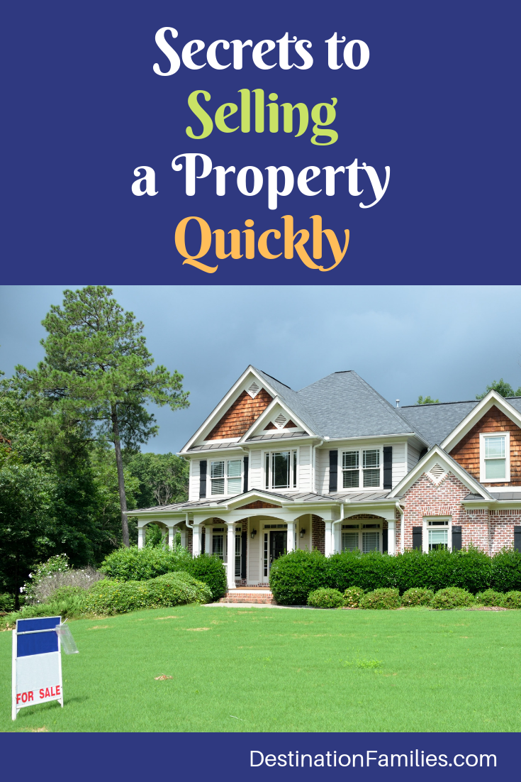 Secrets to Selling a Property Quickly