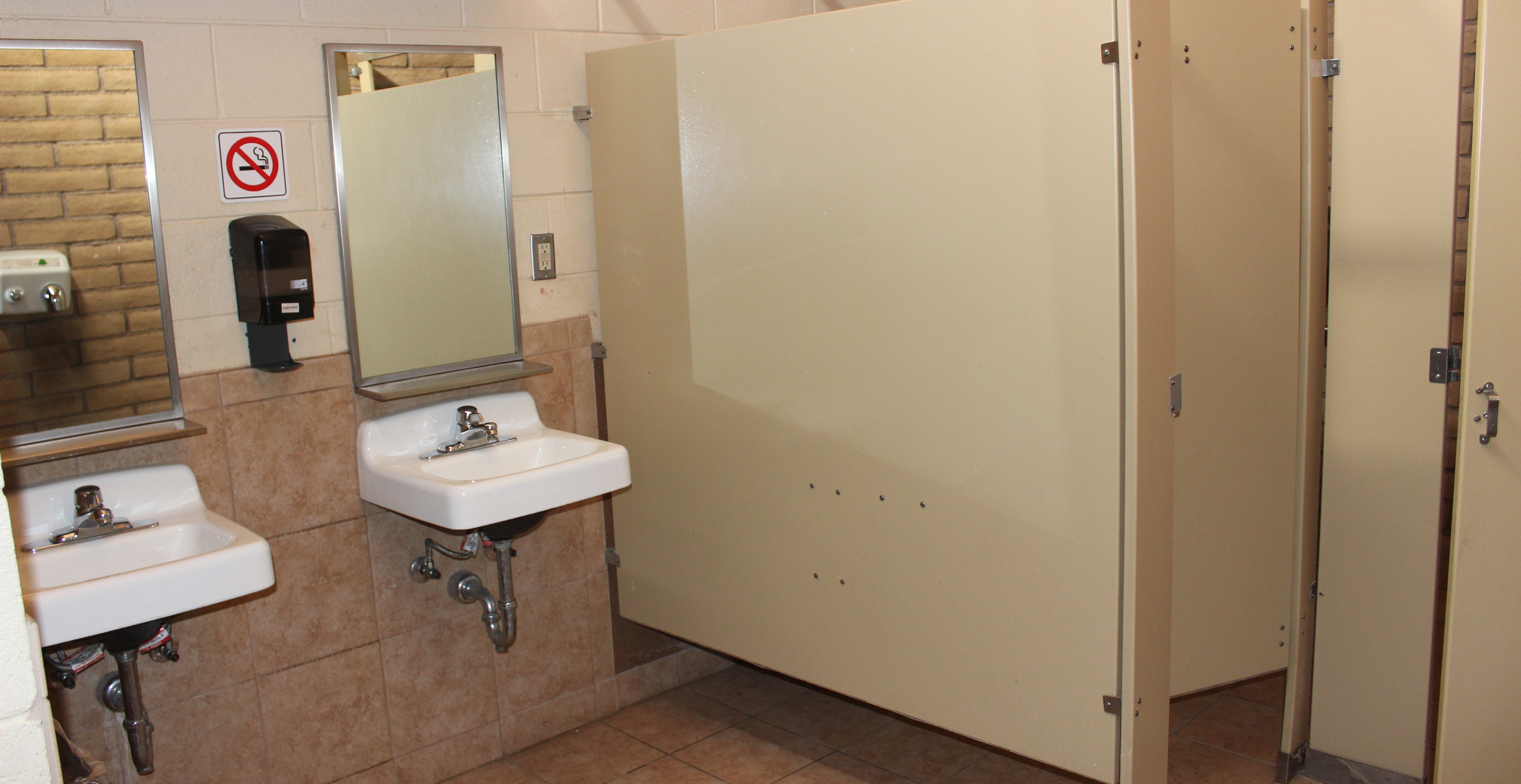 Bathrooms at Ridgway State Park