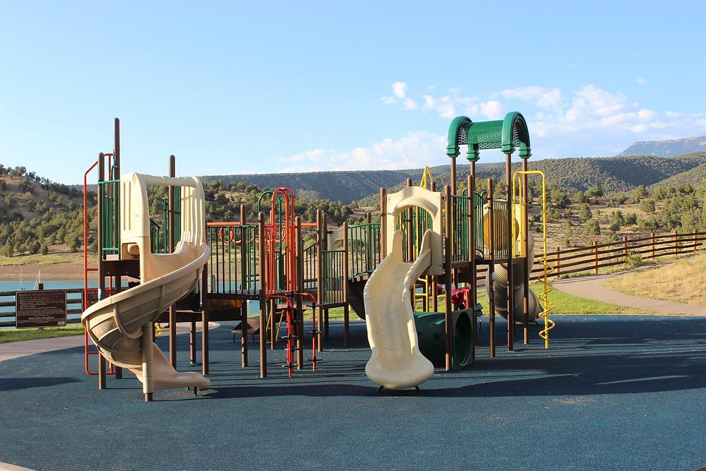 Ridgway State Park playground