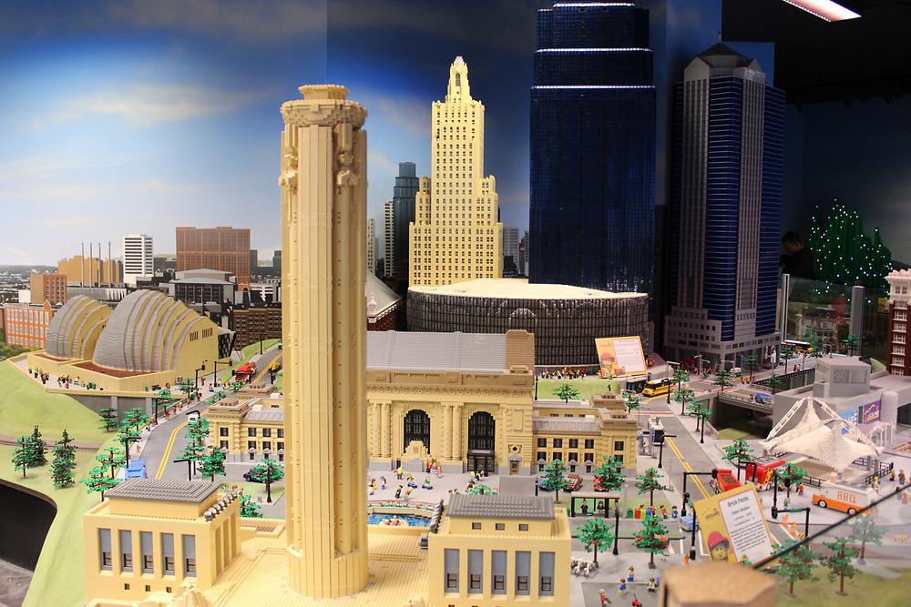 Kansas City LEGO model at the LEGOLAND Discovery Center in Kansas City