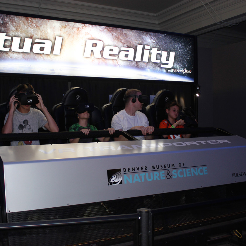 Denver Museum of Nature and Science Virtual Reality Ride