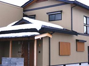 屋根融雪施工例02
