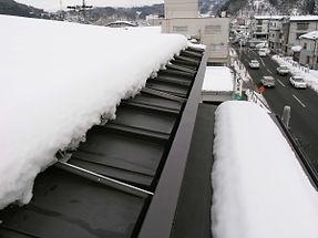屋根融雪施工例03