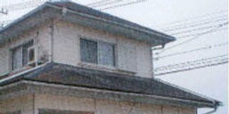 和瓦屋根改修工法の改修前