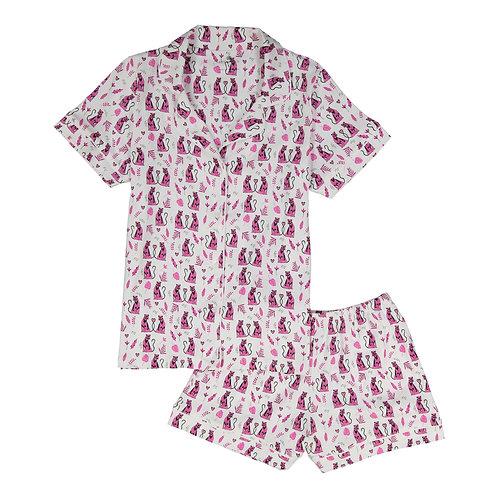 Cora Women's Pajamas (Paradise and Pink Panther)