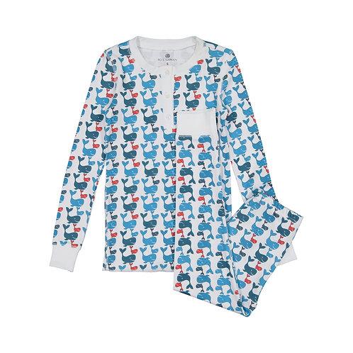 Cameron Pajama Set (Kids)- Free Willy