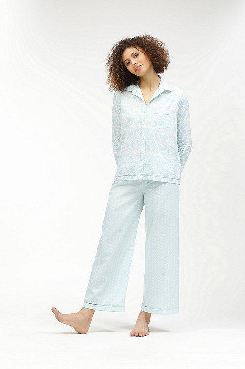 Rosita Women's Pajamas - Pauline (Blue)