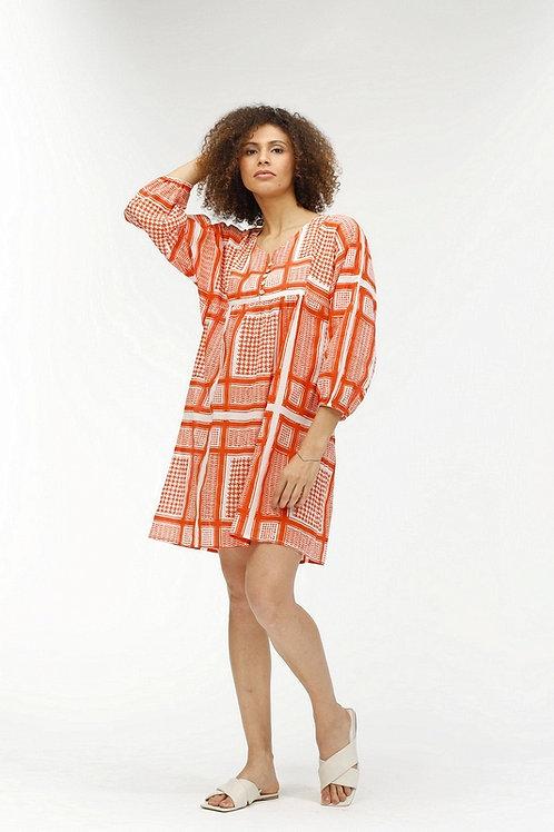 Fabrizia Dress - Piper (Orange)