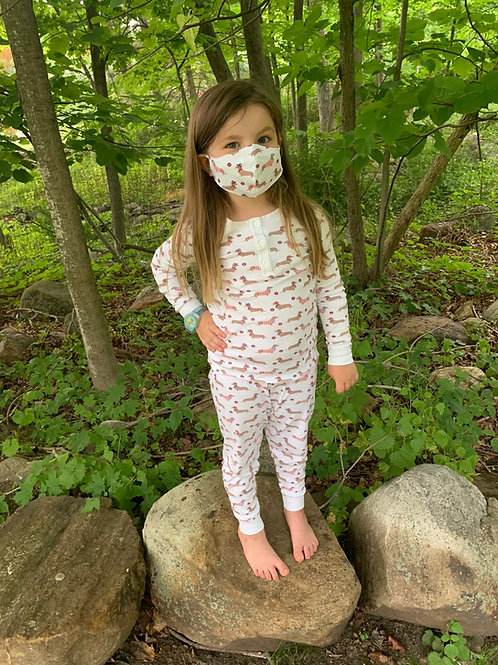 KIDS PJ FACE MASKS (3XPACK)
