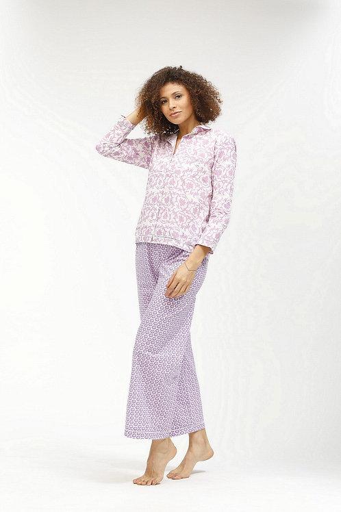 Rosita Women's Pajamas - Pauline (Lilac)