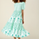 Thumbnail: Daphne Dress - Pomme (Turquoise and Coral))