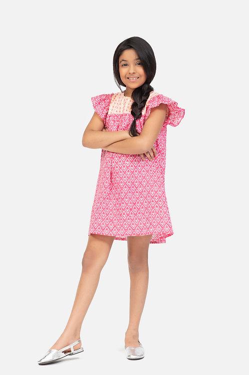 Magina Girl's Dress - Pia+Priscila (Pink)