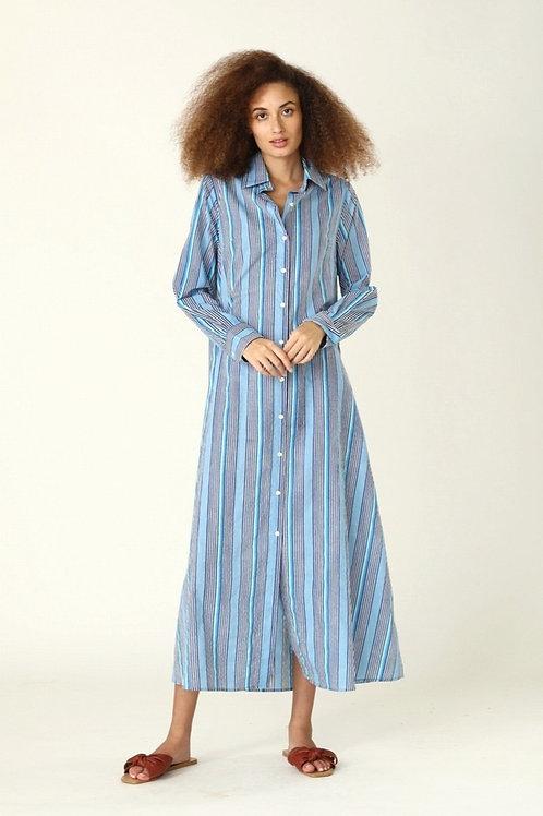 Frannie Dress - Nina (Stripes)