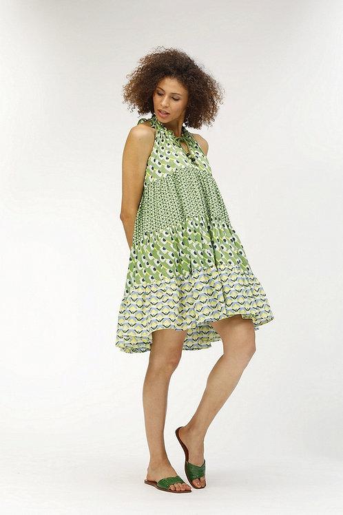 Short Sofia Dress - Phoenix (Green)