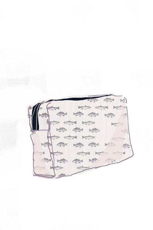 Gogo Cosmetic Pouch (medium) - Ondine Navy