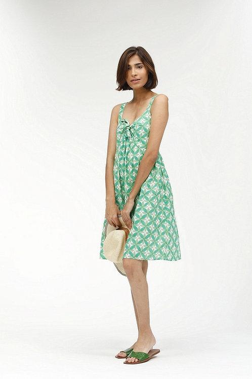 Fanny Short Dress -Portia (Green)